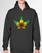 Das Sunflower Weed Hooded Sweatshirt garment-hooded-sweatshirt-front-04