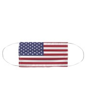 Independence Day Mask USA Flags Cloth face mask aos-face-mask-coverlet-lifestyle-front-01