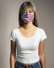 Independence Day Mask USA Flags Cloth face mask aos-face-mask-lifestyle-15