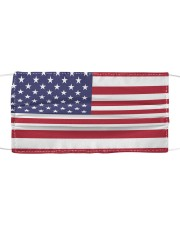 Independence Day Mask USA Flags Cloth face mask front