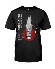 The Expanse Rocinante Ship T-Shirt Classic T-Shirt front