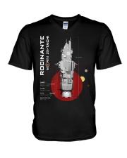 The Expanse Rocinante Ship T-Shirt V-Neck T-Shirt thumbnail