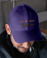 G-9 Love Yourself Embroidered Hat garment-embroidery-hat-lifestyle-02