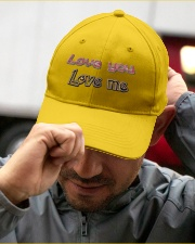 G-9 Love Yourself Embroidered Hat garment-embroidery-hat-lifestyle-01
