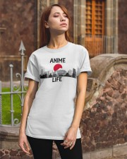 Anime is life Classic T-Shirt apparel-classic-tshirt-lifestyle-06