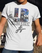 Luke brayn signature  Classic T-Shirt apparel-classic-tshirt-lifestyle-28