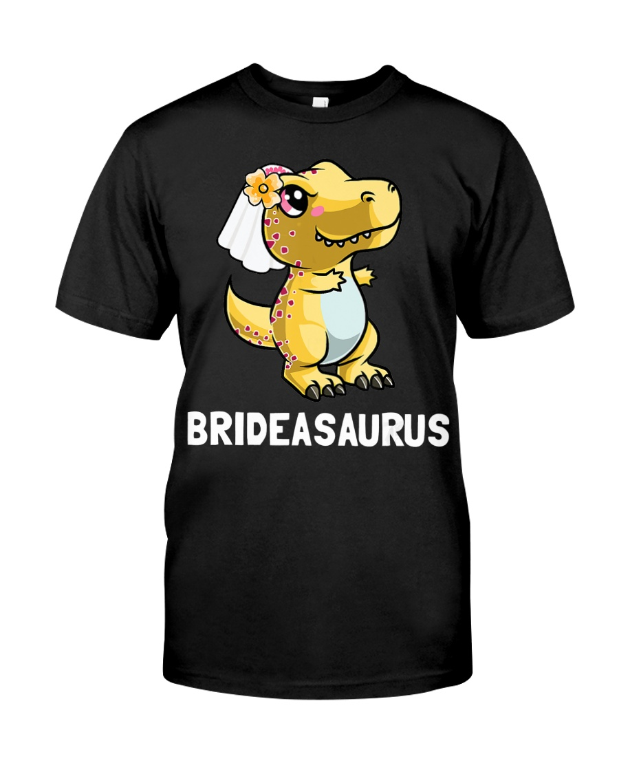 Dinosaur Bride a Saurus Wedding Gift Shirt Classic T-Shirt