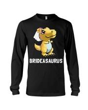 Dinosaur Bride a Saurus Wedding Gift Shirt Long Sleeve Tee thumbnail