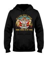 On A Dark Desert Highway Cool Wind In My Hai Hooded Sweatshirt thumbnail