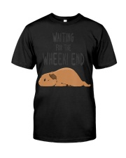 Guinea Pig Pun Waiting For The  Classic T-Shirt front