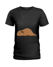 Guinea Pig Pun Waiting For The  Ladies T-Shirt thumbnail