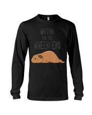 Guinea Pig Pun Waiting For The  Long Sleeve Tee thumbnail
