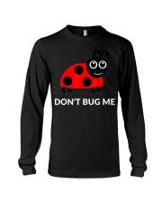 Don't Bug Me Funny Ladybug Pun T-Shirt Long Sleeve Tee thumbnail