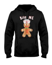 Gingerbread Nurse Christmas  Hooded Sweatshirt thumbnail