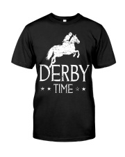 Derby Time Horse Racing T-Shirt Classic T-Shirt front