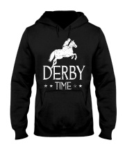 Derby Time Horse Racing T-Shirt Hooded Sweatshirt thumbnail