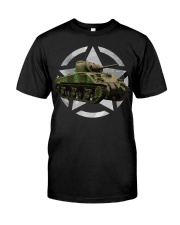 M4 Sherman Tank Shirt WW2 Milit Premium Fit Mens Tee thumbnail