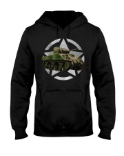 M4 Sherman Tank Shirt WW2 Milit Hooded Sweatshirt thumbnail