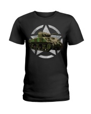 M4 Sherman Tank Shirt WW2 Milit Ladies T-Shirt thumbnail