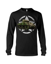M4 Sherman Tank Shirt WW2 Milit Long Sleeve Tee thumbnail