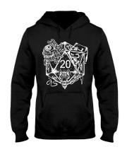 Role Playing Dungeons Gift Shirt Dice Art D Hooded Sweatshirt thumbnail