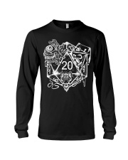 Role Playing Dungeons Gift Shirt Dice Art D Long Sleeve Tee thumbnail