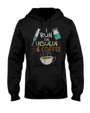 I run on Insulin and Coffee Cup S Hooded Sweatshirt thumbnail