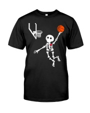 basketball skeleton hal t Premium Fit Mens Tee thumbnail