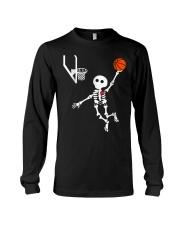 basketball skeleton hal t Long Sleeve Tee thumbnail