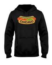 Chicago Hot Dog Lover T-Shirt Hooded Sweatshirt thumbnail