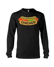 Chicago Hot Dog Lover T-Shirt Long Sleeve Tee thumbnail