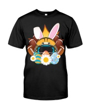 Football Easter Bunny Egg  Classic T-Shirt thumbnail