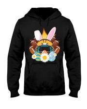 Football Easter Bunny Egg  Hooded Sweatshirt thumbnail