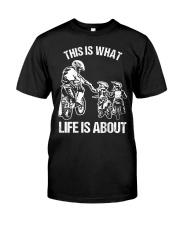 Dirt Bike Dad Motocross Motorcycle FMX B Classic T-Shirt front