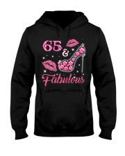 65  Fabulous T-shirt 65th Birthday t s Hooded Sweatshirt thumbnail