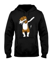The Dabbing Beagle T-Shirt Hooded Sweatshirt thumbnail