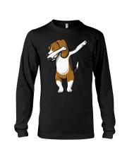 The Dabbing Beagle T-Shirt Long Sleeve Tee thumbnail
