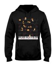 Piano Music Beagle T-Shirt Cute Dog Lov Hooded Sweatshirt thumbnail