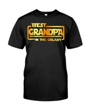 The best Grandpa in the galaxy Shirt Classic T-Shirt front