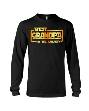 The best Grandpa in the galaxy Shirt Long Sleeve Tee thumbnail