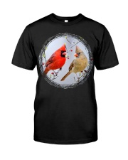 Red Cardinals TShirts for Backyard Bird W Premium Fit Mens Tee thumbnail
