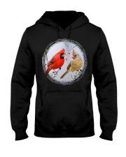 Red Cardinals TShirts for Backyard Bird W Hooded Sweatshirt thumbnail