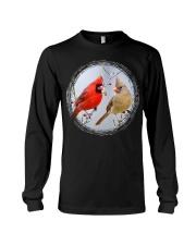 Red Cardinals TShirts for Backyard Bird W Long Sleeve Tee thumbnail