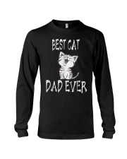 Best Cat Dad Ever Father's Gift Tshirt Long Sleeve Tee thumbnail