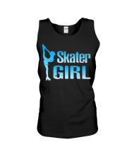 Cute Ice Skater Gift Tee -Figure Skating Gir Unisex Tank thumbnail