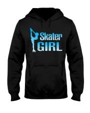 Cute Ice Skater Gift Tee -Figure Skating Gir Hooded Sweatshirt thumbnail