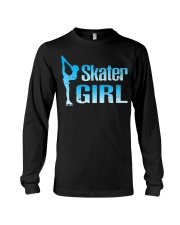 Cute Ice Skater Gift Tee -Figure Skating Gir Long Sleeve Tee thumbnail