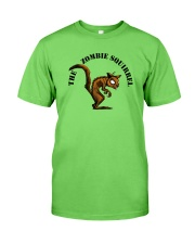 zombie squirrel Classic T-Shirt front