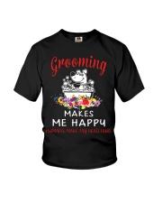 Grooming Makes Me Happy Youth T-Shirt thumbnail