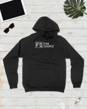 FAN SOURCE LOGO TEE COLLECTION Hooded Sweatshirt lifestyle-unisex-hoodie-front-8